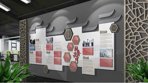 一个优秀的企业一定有着丰富的企业文化墙