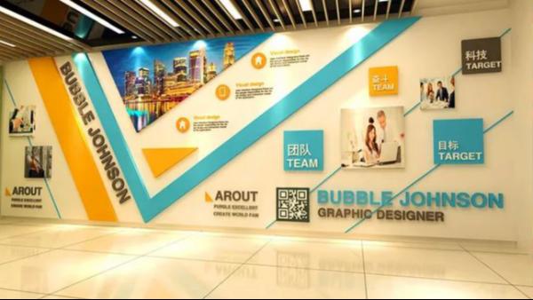 企业员工文化墙要怎么设计