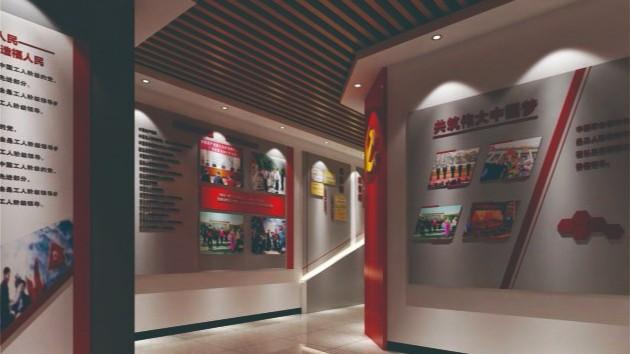 七里坪社区党建文化墙